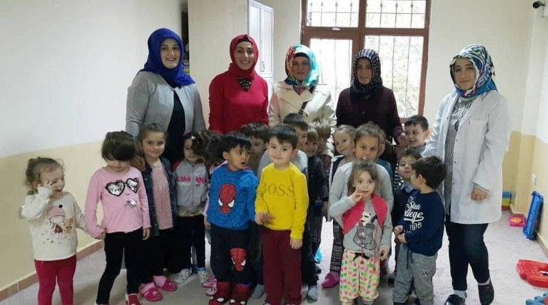 15 Temmuz Şehit yakınları Türkan Türkmen Tekin Sıbyan Okulu'nda
