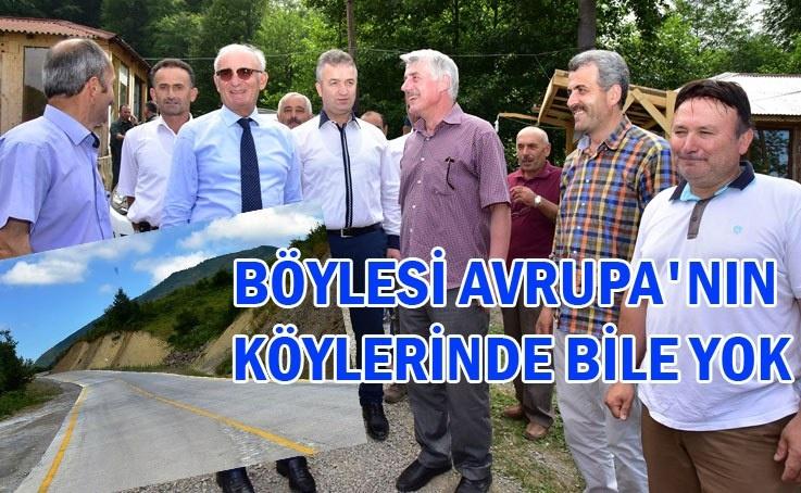 19 Mayıs Kuşkayası ve Nebiyan Mahalleleri'nde vatandaşların yol sevinci