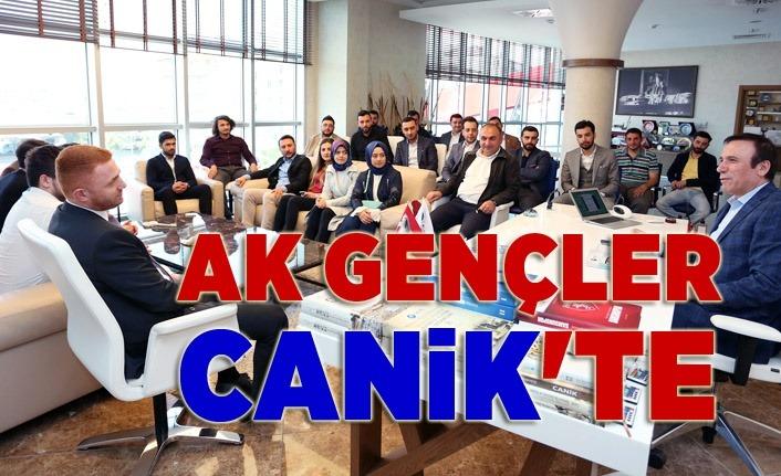 AK Parti İl Gençlik Kolları yönetimi Canik Belediyesi'nde