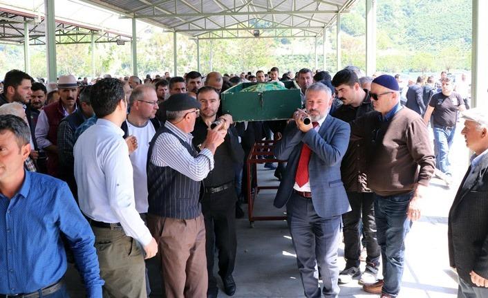 Ayvacık Belediye personeli Gümüştaş son yolculuğuna uğurlandı
