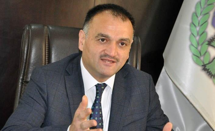 Başkan Akgül'den Yusuf Ziya Yılmaz'a teşekkür
