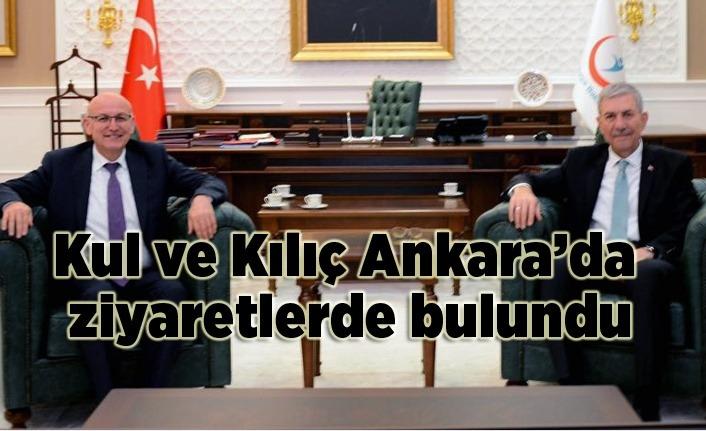 Başkanlar Terme için Ankara'da