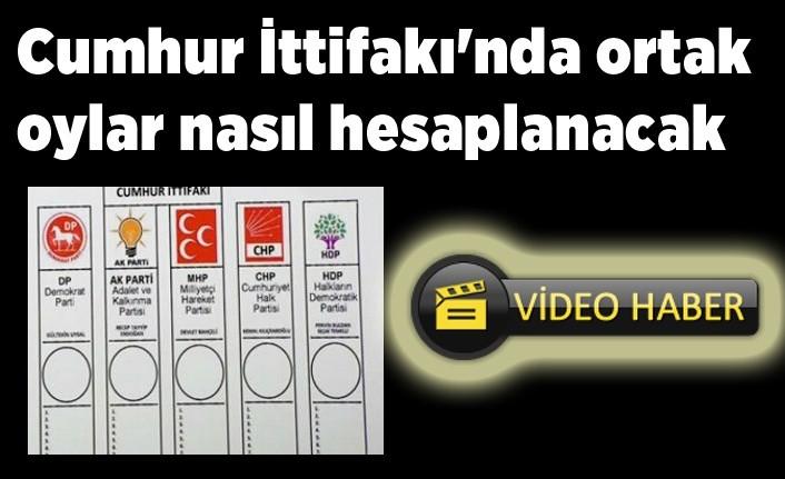 Erken seçimde AK Parti ve MHP'nin oyları nasıl hesaplanacak!