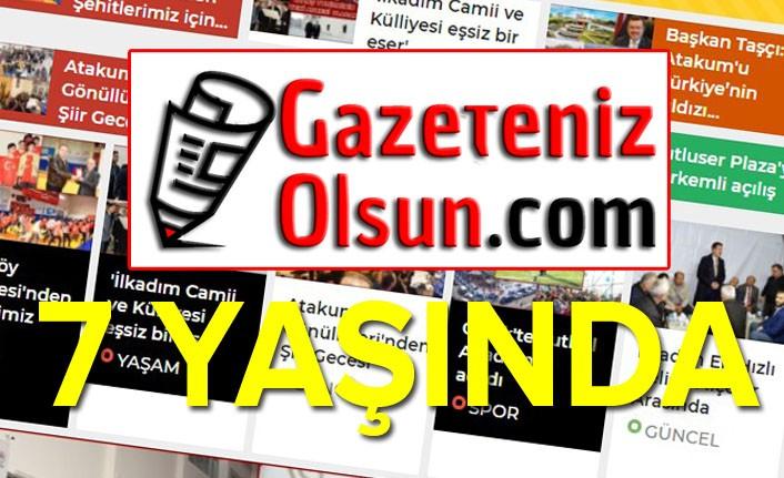 Gazeteniz Olsun.com yeni yaşına, yeni tema ile girdi
