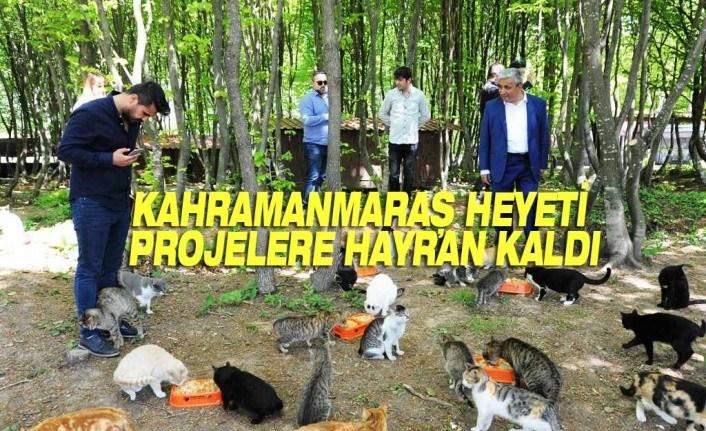Kahramanmaraş Heyeti Büyükşehir Projelerine Hayran Kaldı