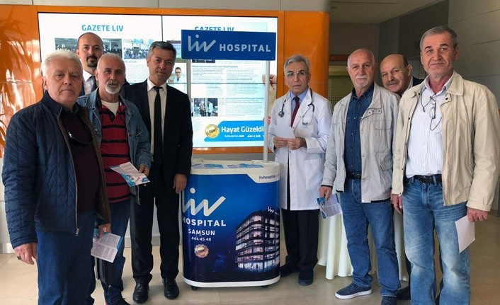 Liv Hospital Samsun'dan Hemofili'nin farkındayız etkinliği
