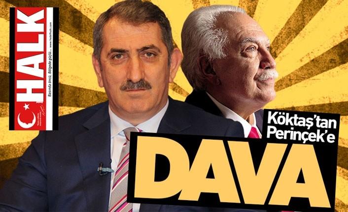 Milletvekili Köktaş'tan Perinçek'e dava