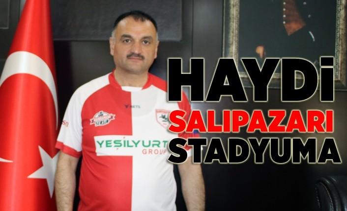 Salıpazarı'ndan Samsunspor maçına ücretsiz ulaşım