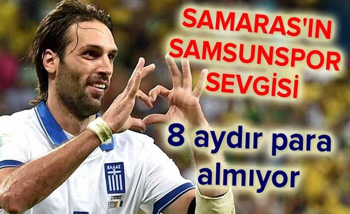 Samaras'tan Samsunspor için büyük fedakarlık
