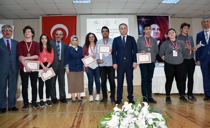 Samsun'da Liseler arası Münazara Turnuvası yapıldı