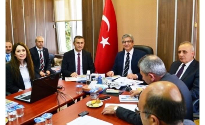 Samsun Tarımsal Kuraklık İl Kriz Merkezi Komisyonu toplandı
