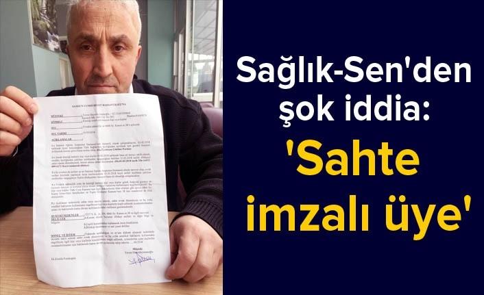 Samsun Türk Sağlık Sen'de sahte imza iddiası