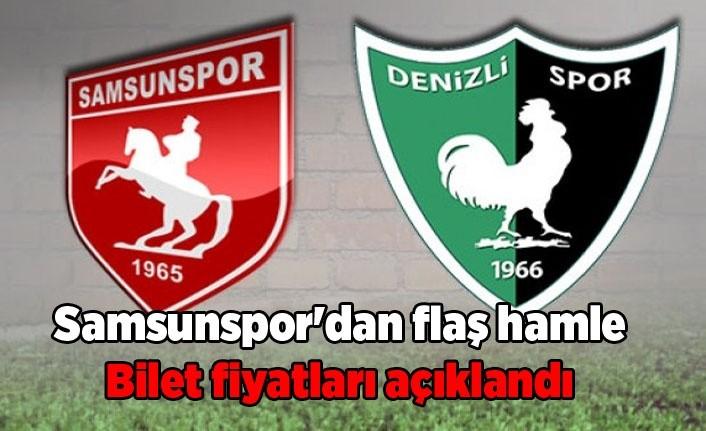 Samsunspor Denizlispor maçı 1 Lira