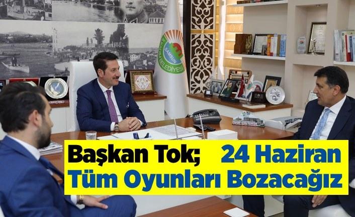 Başkan Tok AK Parti aday adaylarını ağırladı