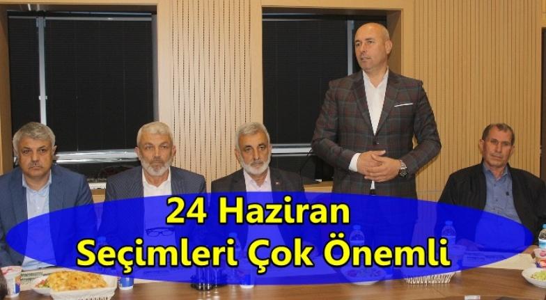 Başkan Togar AK Parti Teşkilatı İle Bir Araya Geldi