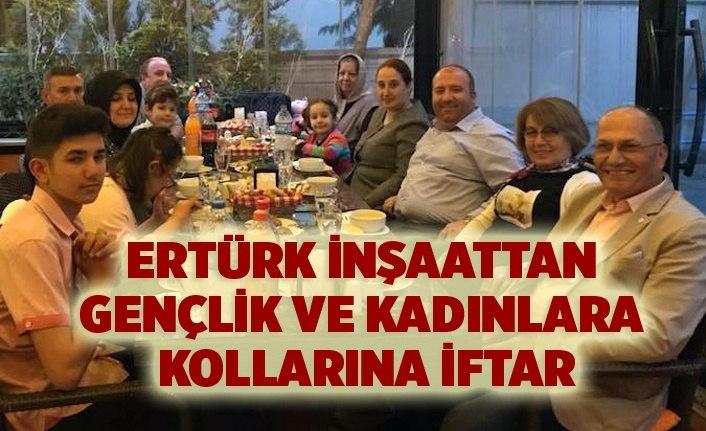 Ertürk İnşaat'tan Gençlik ve Kadın Kolları'na iftar
