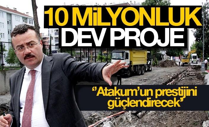 Atakum'a 10 milyonluk dev proje