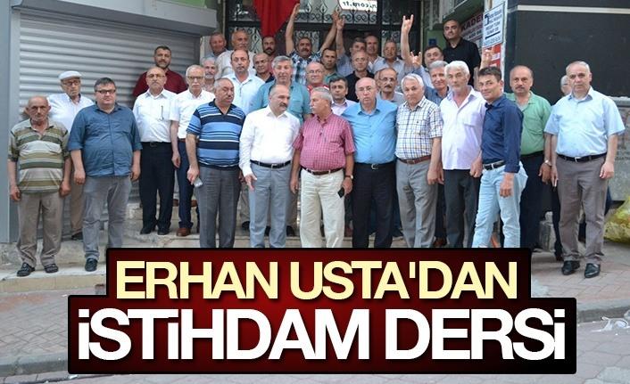 Erhan Usta'dan İstihdam Dersi