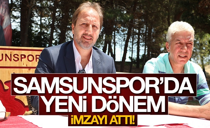 Samsunspor'da yeni dönem: Teknik Direktörü Taner Taşkın!