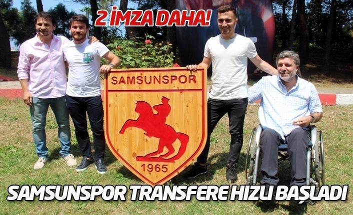 Samsunspor transfere hızlı başladı