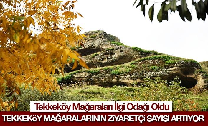 Tekkeköy Mağaralarının Ziyaretçi Sayısı Artıyor