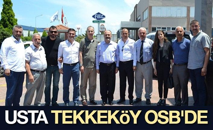 Usta Tekkeköy OSB'de