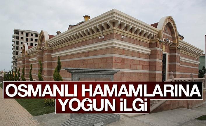 Atakum Osmanlı Hamamlarına yoğun ilgi