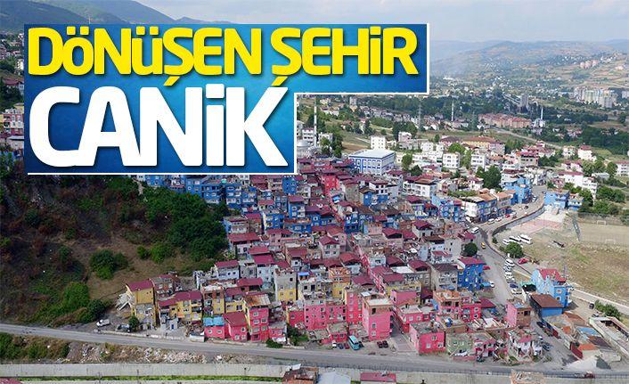 Dönüşen şehir Canik