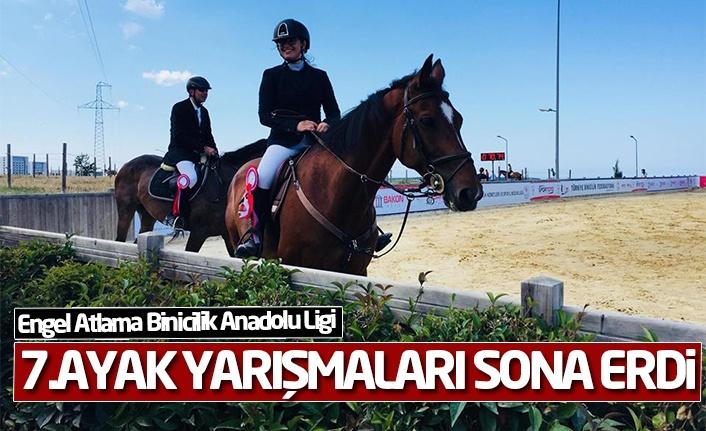Engel Atlama Binicilik Anadolu Ligi 7. Ayak yarışmaları sona erdi