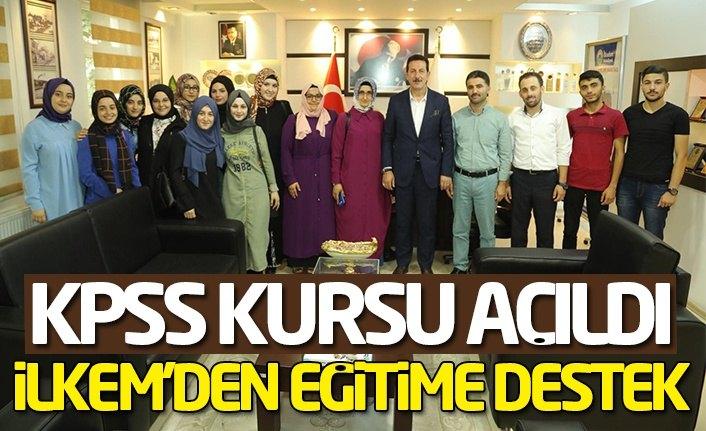 İLKEM KPSS kursu açtı