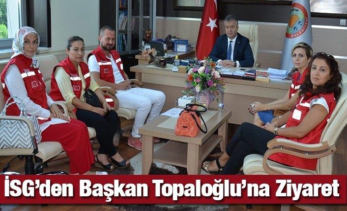 İSG 'den Başkan Topaloğlu'na Ziyaret