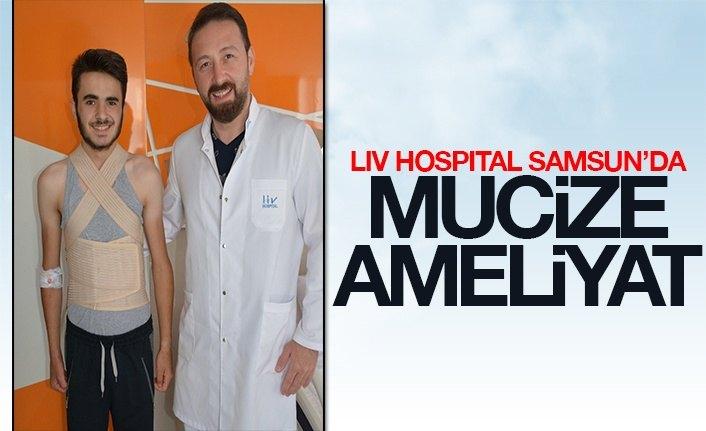 Liv Hospital Samsun'da Mucize Ameliyat