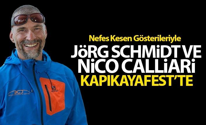 Nefes Kesici Gösterileriyle Jörg Schmidt ve Nico Calliari Kapıkayafest'te