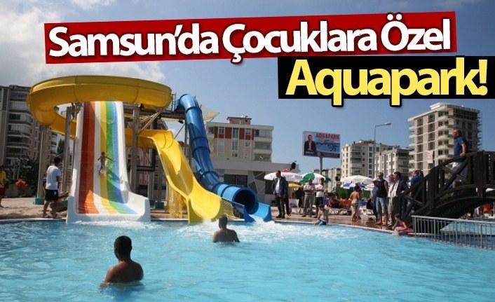 Samsun'da Çocuklara Özel Aquapark!