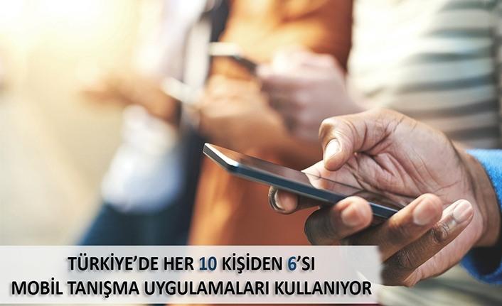 Türkiye'de Her 10 Kişiden 6'sı Mobil Tanışma Uygulamaları kullanıyor