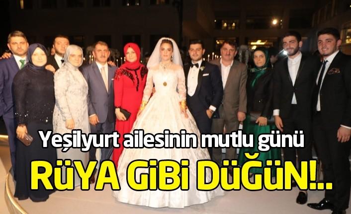 Yeşilyurt ailesinin mutlu günü: Rüya gibi düğün!