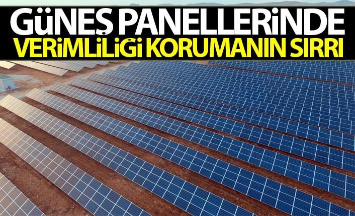 Güneş enerjisi panelleri nasıl temizlenir?