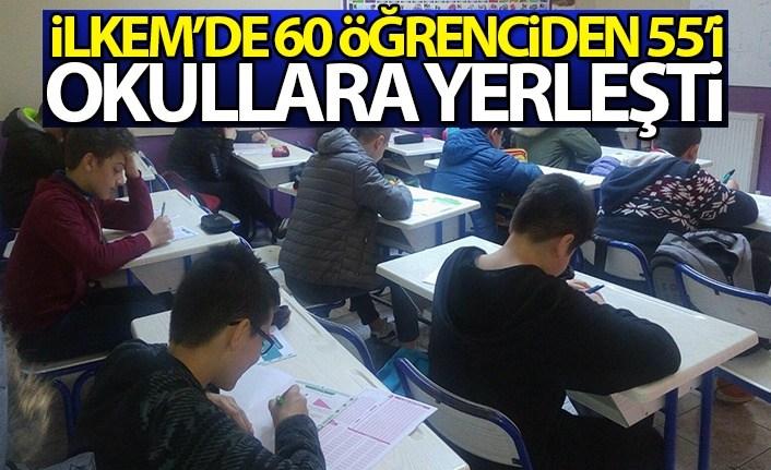 İLKEM'de 60 Öğrenci'den 55'i Okullara Yerleşti
