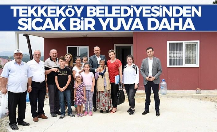 Tekkeköy Belediyesi'nden Sözde Değil Özde Sosyal Belediyecilik