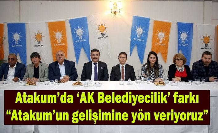 AK Parti Atakum İlçe Danışma Toplantısı yapıldı