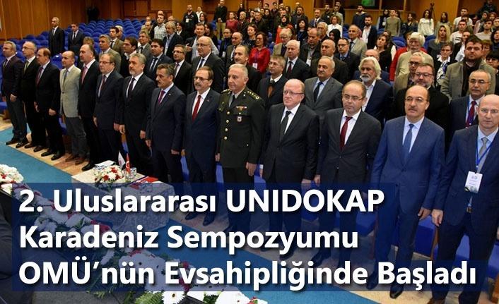 2. Uluslararası UNIDOKAP Karadeniz Sempozyumu Başladı