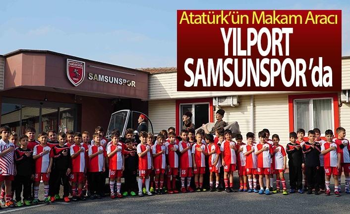 Atatürk'ün makam aracı Yılport Samsunspor'da