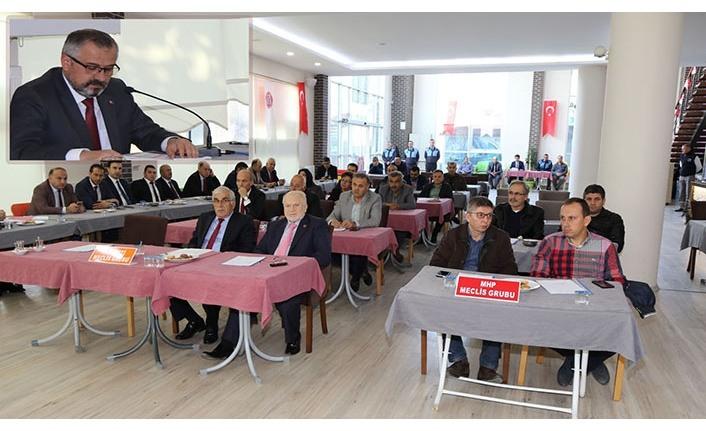 Bafra Belediyesi Kasım ayı meclis toplantısı yapıldı