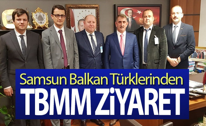 Balkan Türklerinden Samsun'lu Milletvekillerine Ziyaret