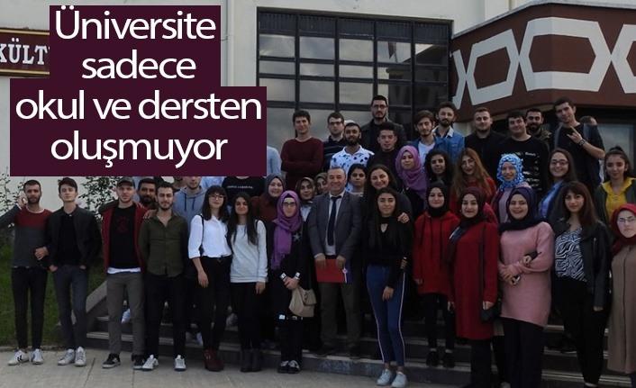 Çarşamba Ticaret Borsası MYO Öğrencileri Samsun'u Gezdi
