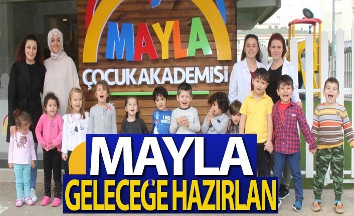 Çocuklar Mayla ile geleceğe hazırlanıyor