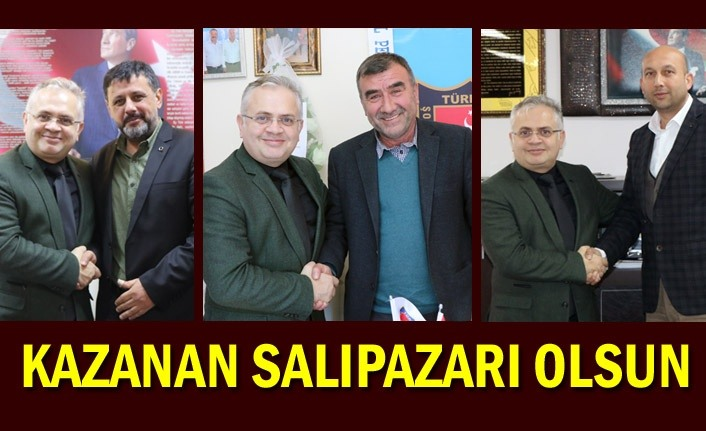 Erdal Bozkurt'tan STK'lara ziyaret