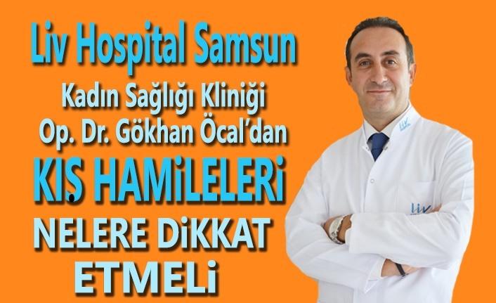 Liv Hospital Samsun Hastanesin'den Kış Hamilelerine Altın Öneriler