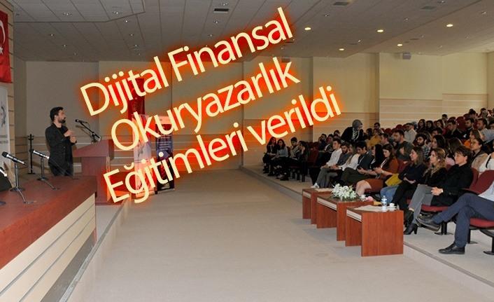 OMÜ'de Dijital Finansal Okuryazarlık Eğitimi Verildi