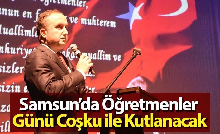 Samsun' da Öğretmenler Günü Hafta Boyunca Kutlanacak